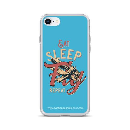 'Eat, Sleep' iPhone Case