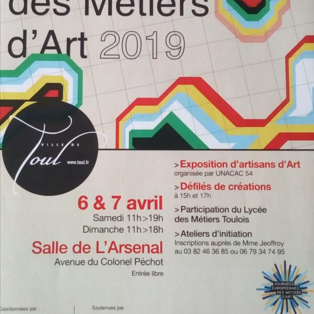 6&7 avril 19 -Journées Européenes des Métiers d'Art - Défilés Miss Curvy 2018 et ses dauphines