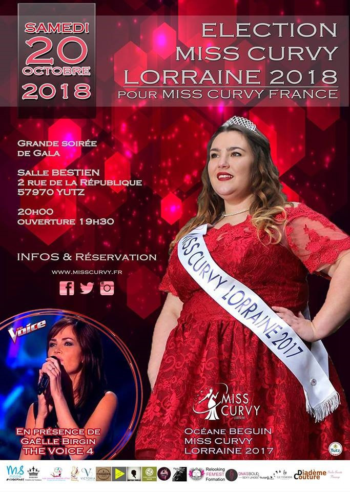 Promo Show Miss Curvy Lorraine 2018