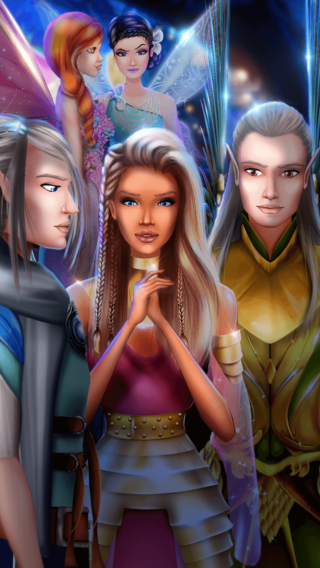 Fantasy Love Story Games - Getting to Know Ruana