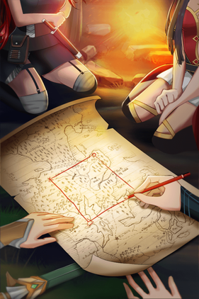 Locations of Artifacts on the Map in Shadowtime