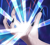 Character Ghost gets her magic back when she clasps a token of tracking in her hand.