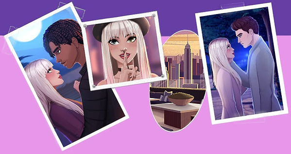 Blog Of Secrets Love Story Game - Collage