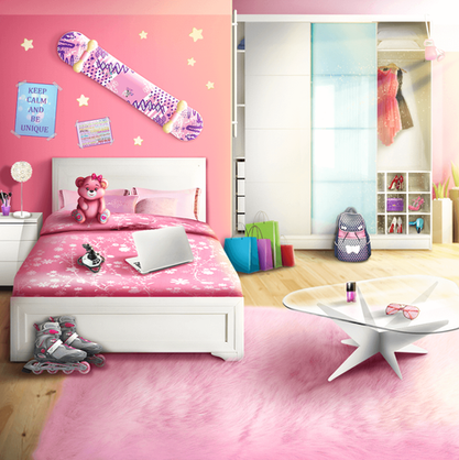 MC's Cosy Bedroom in Time Travel Story