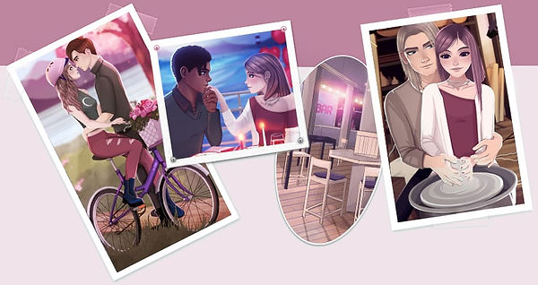 Teenage Drama Love Story Game - Collage