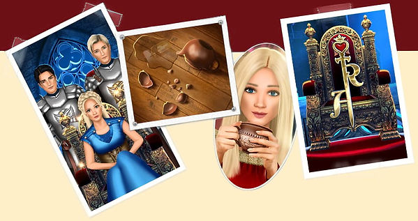 Royal Affair Love Story Game - Princess and her potential lovers