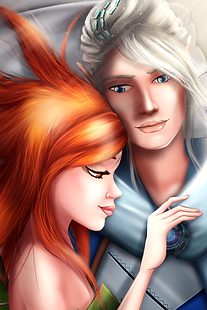 Fantasy's MC is enjoying a romantic time with Livian.