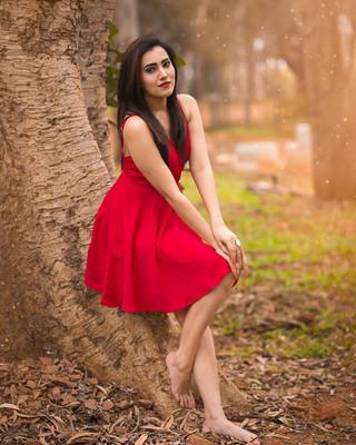 Red Mini Dress Park Portrait Lit.jpg