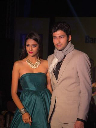 Fashion Show Couple Portrait