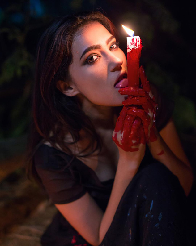 Candle Light Portrait with Blood.jpg