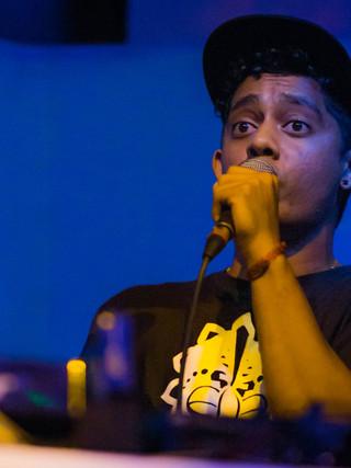 Freestyle Rapper Portrait