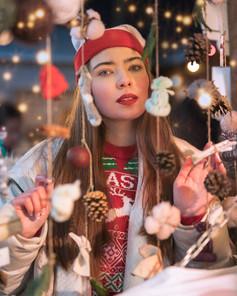 Christmas Market Portrait