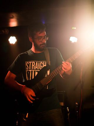 Lead Guitarist Portrait