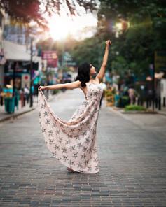 Street Yoga Portrait