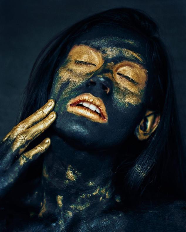 Black and Golden Dust Portrait.jpg