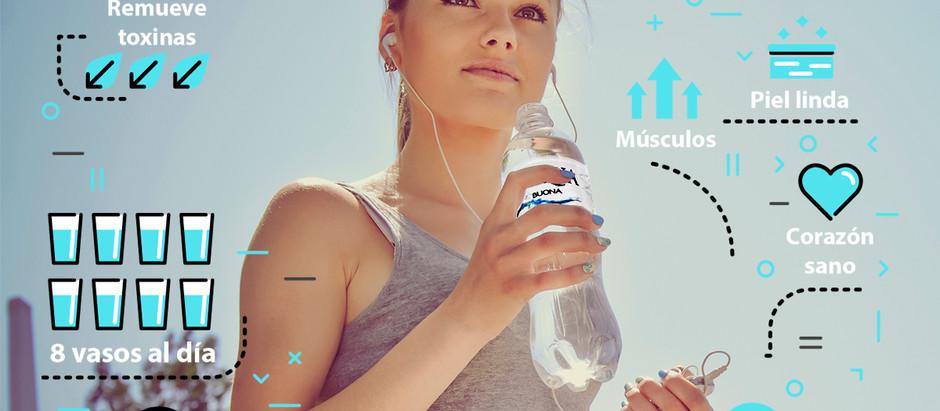 Agua para vivir bonito y bien... ¡Tips!