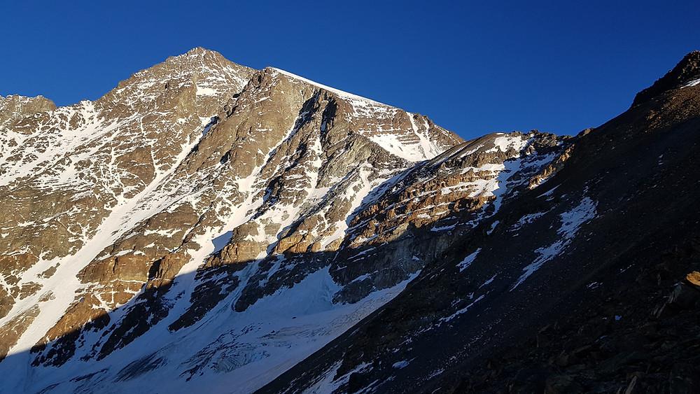 Cerro Rincón (5.300) ao amanhecer
