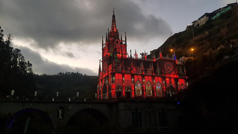 O belíssimo santuário de Las Lajas, Ipiales - Colômbia