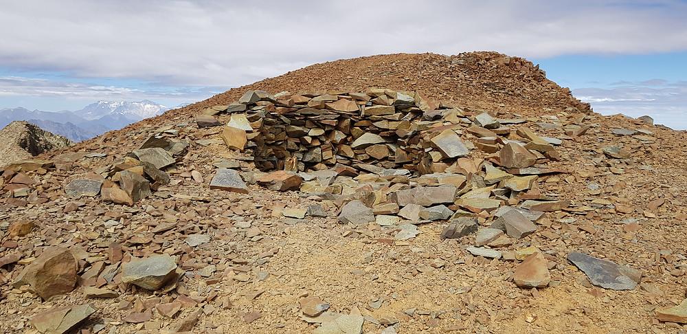 """""""Pirca del Inca"""", local onde uma criança foi sacrificada em cerimônia Inca, a 5.200m"""