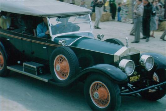 Show car parade Pebble Beach