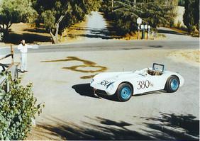 Leonard with the car