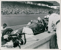 Johnny Thompson May 1955