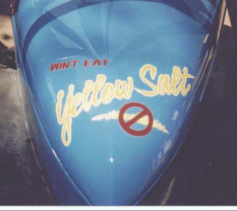 Don't eat Yellow salt