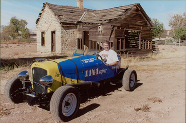 Dave Seely in the Beetle