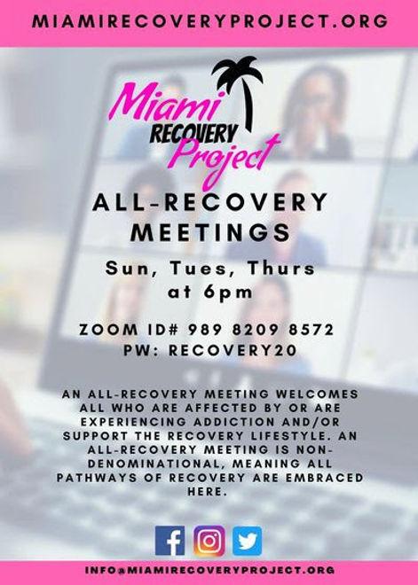 MIAMI RECOVERY MEETING YAYA POR VIDA.jpe