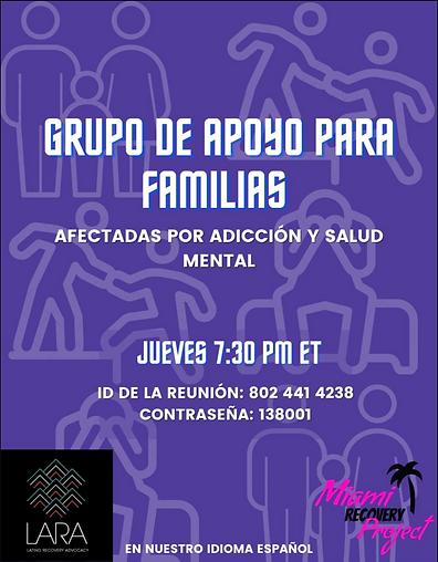 family support group yaya por vida