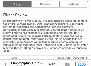 Great Review of 'Watercolour' from Apple Music