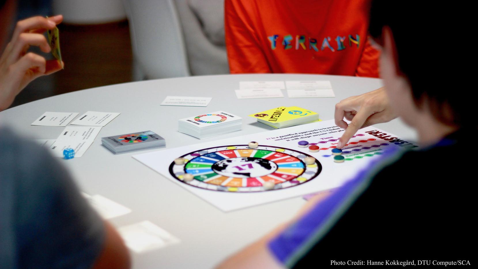 Copenhagen International School playing Save Terra