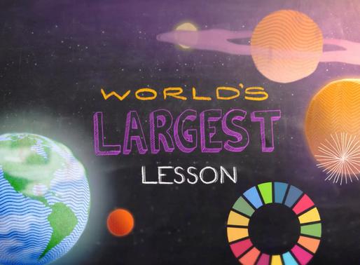 An educator's journey exploring the UN Global Goals - Part 2: The World's Largest Lesson