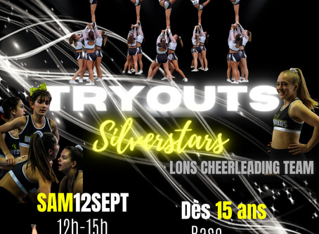 TRYOUTS  LONS CHEERLEADING TEAM