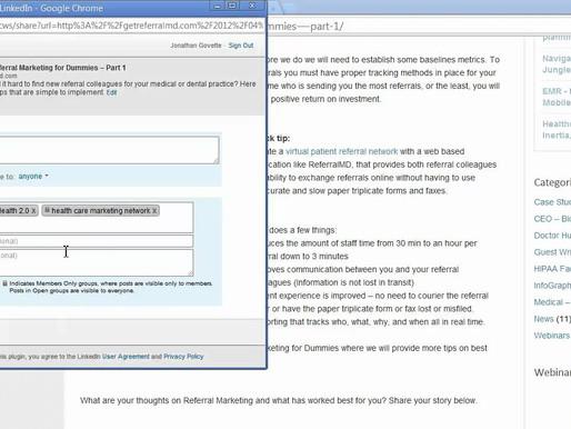 MedStartr School: Using LinkedIn Effectively