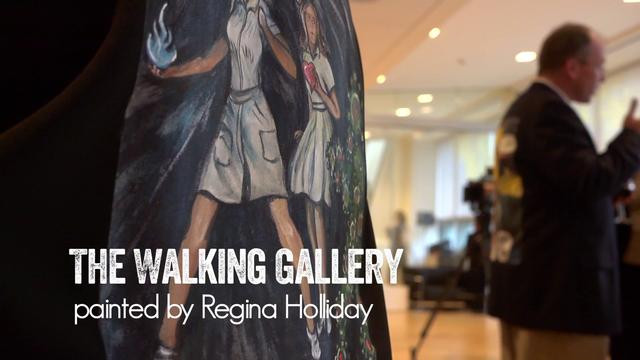Regina's Walking Gallery