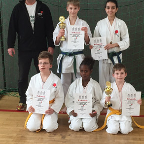 Kinder Vereinsmeisterschaft im Karate Dojo