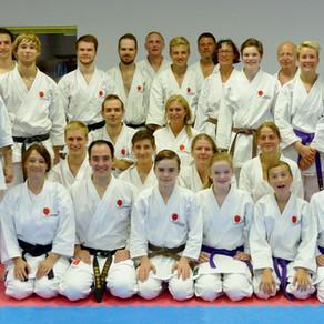Gasttrainer aus Neuseeland im Karate Dojo Groß-Umstadt