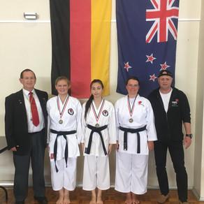 Gold, Silber und Bronze für das Karate Dojo Groß-Umstadt bei den Neuseeländischen Meisterschaften