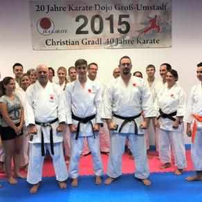 Neuer Schwarzgurt im Karate Dojo Groß-Umstadt