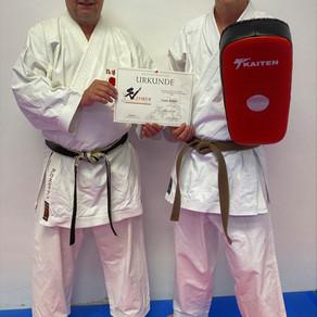 Karate Dojo Groß-Umstadt mit Qualifiziertem SV Lehrer
