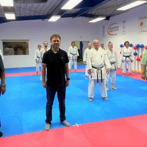 Bundestagsabgeordneter besucht das Karate Dojo Groß-Umstadt