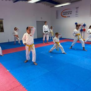 Karate Training in den Sommerferien