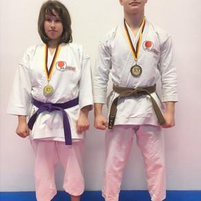 Zweimal Bronze bei der Mitteldeutschen Karatemeisterschaft