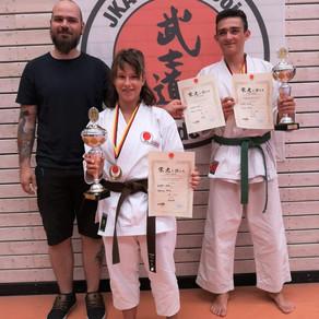 2x Gold bei den Südwestdeutschen Karatemeisterschaften