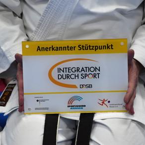 """Auszeichnung für das Karate Dojo Groß-Umstadt """"Integration durch Sport"""""""