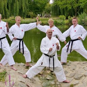 Die neuen Danträger vom Karate Dojo Groß-Umstadt.