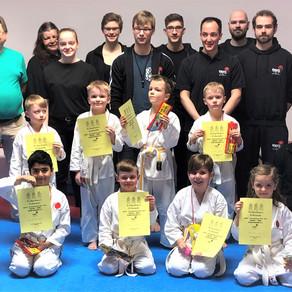 Kinder Vereinsmeisterschaft im Karate Dojo Groß-Umstadt
