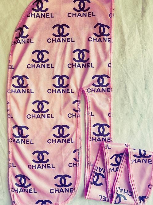 Pink CHANEL Durag