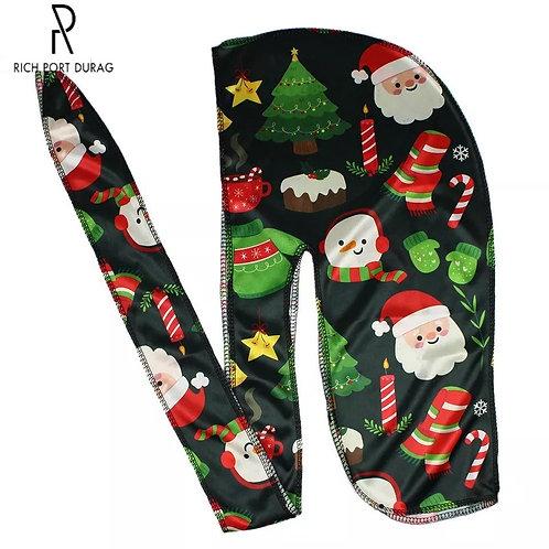 Black Christmas Durag